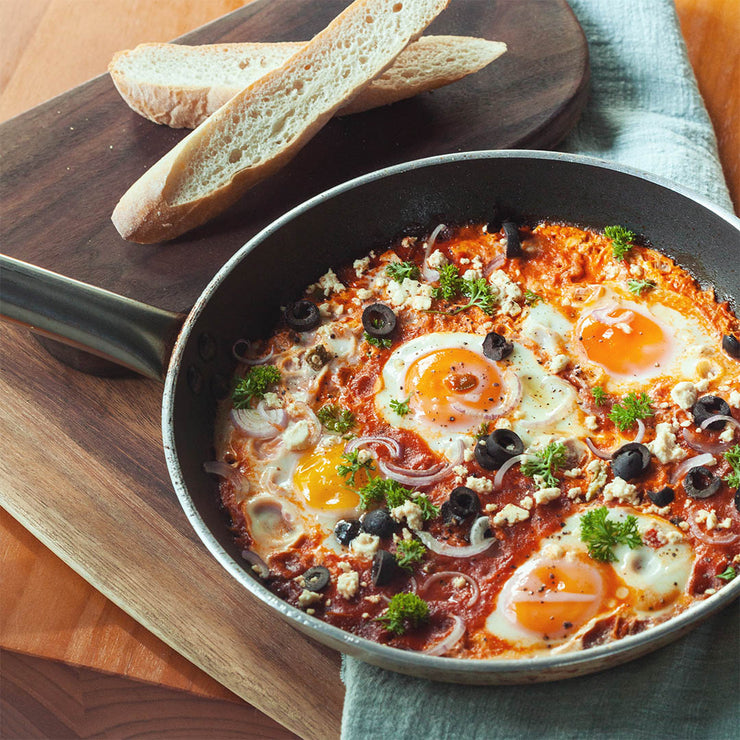 Mon, Nov 18 - Shakshuka With Toast - Living Menu