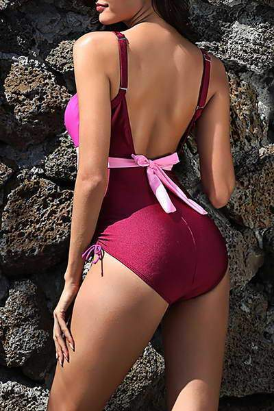 Bow Back Swimsuit