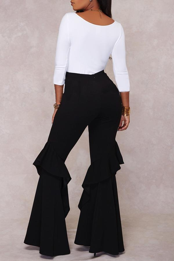 Funky Ruffled Pants