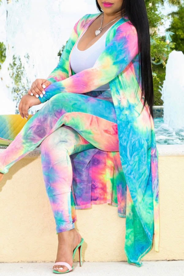 Printed Colourful Long Set
