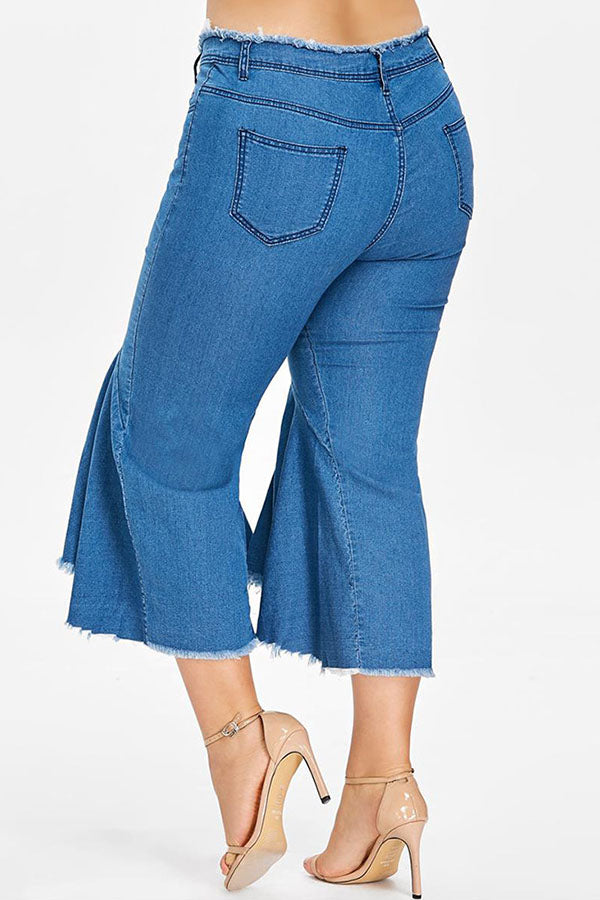Lotus Leaf Edge Jeans