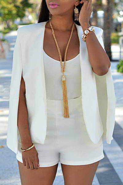 split-sleeve-collarless-tailored-suit-jacket-short-chic-plain-jacket