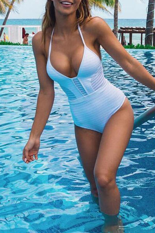 Cutout Summer Bikini Swimwear