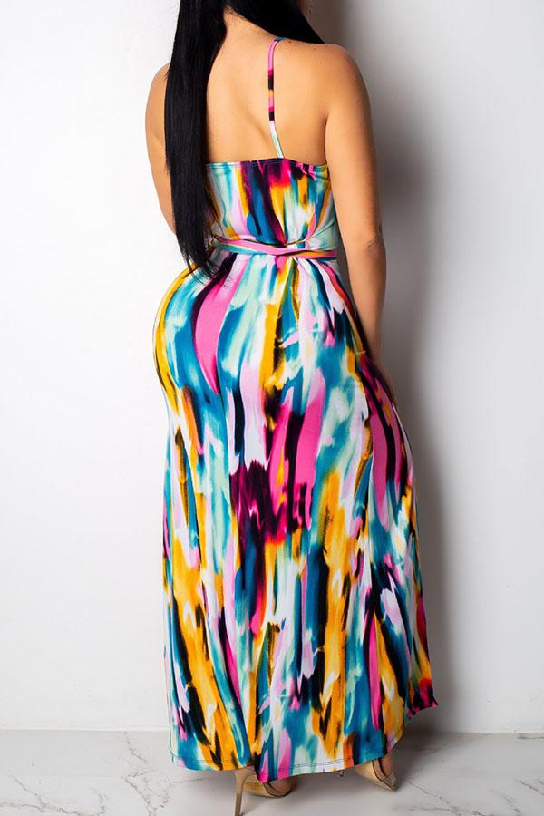 Colorful Print Sundress