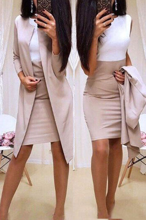 Professional Dress&Jacket Set