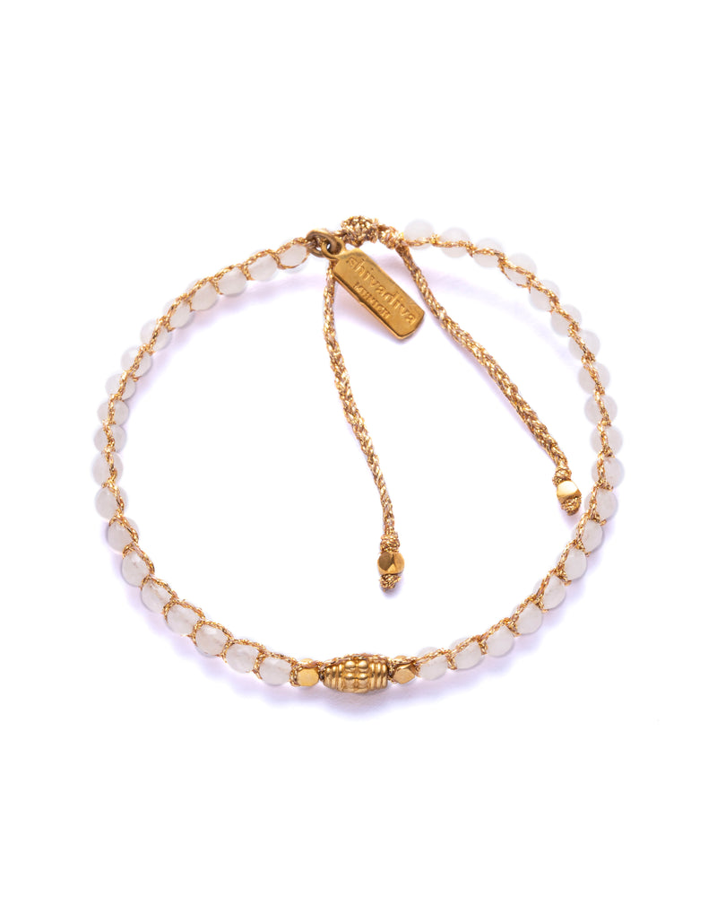 Armband Gold weiss