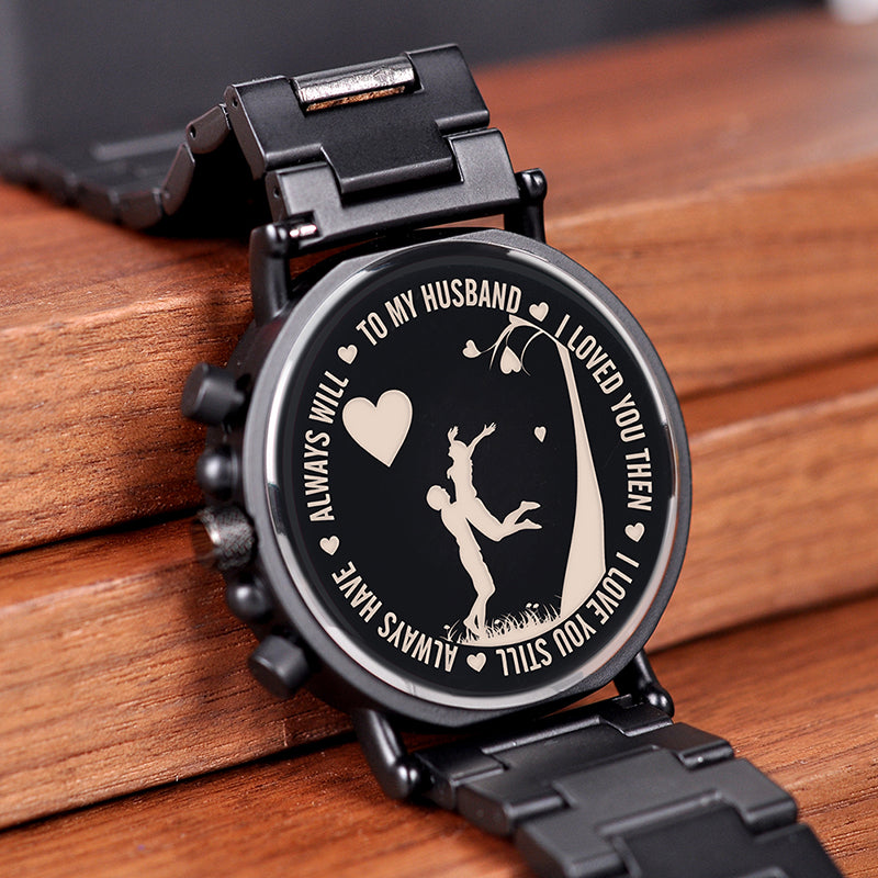 BOBO BIRD Personalized  Engraving Men Watch - Urban Fashion King
