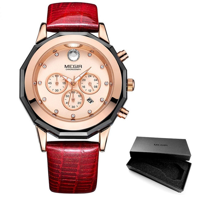 Megir Fashion Quartz Watch - Urban Fashion King