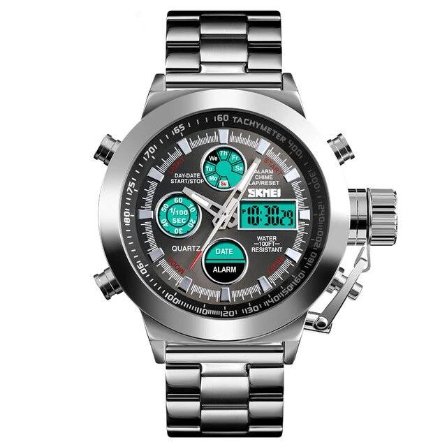Luxury Men's Quartz Digital Sport Watch by SKMEI - Urban Fashion King