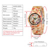 BOBO BIRD Ladies Butterfly Quartz Watches - Urban Fashion King