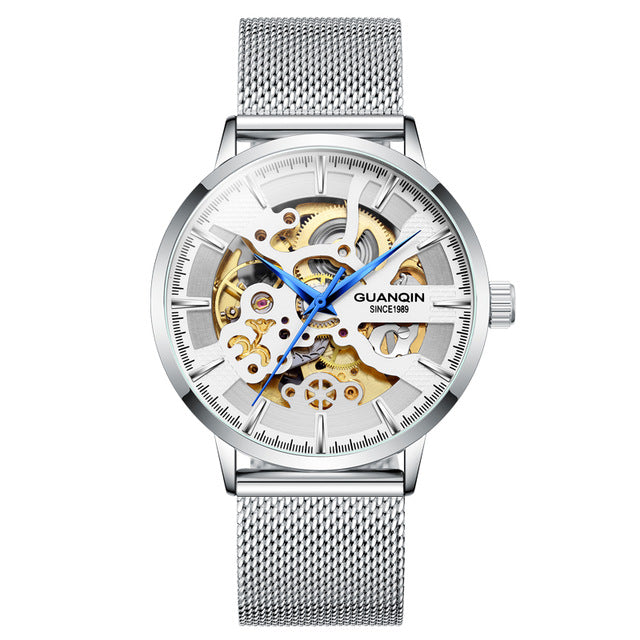 GUANQIN men's skeleton automatic mechanical watch - Urban Fashion King
