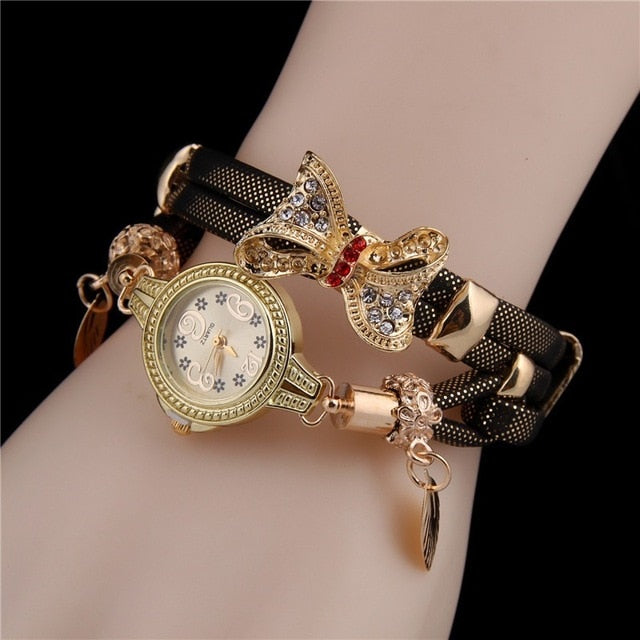 Butterfly Retro Bracelet Watch - Urban Fashion King