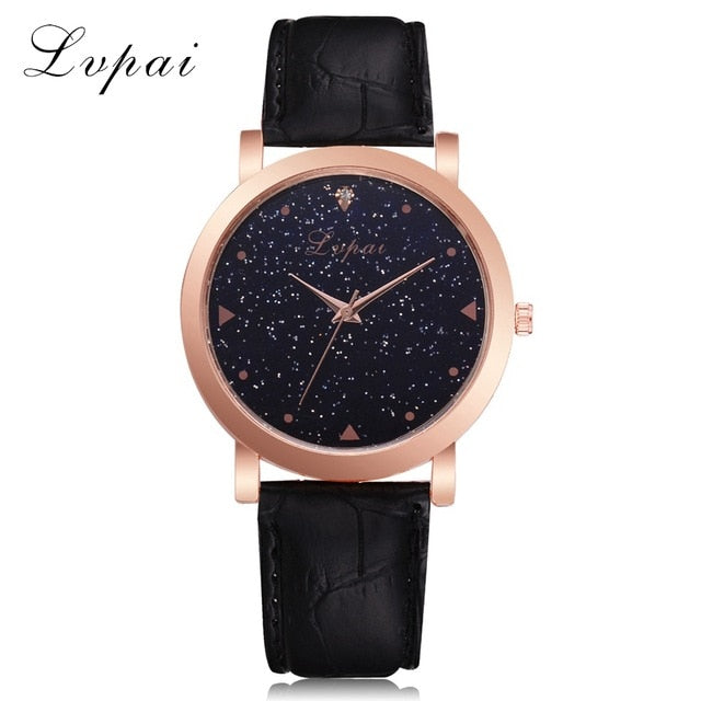 Rose Gold Stainless Steel Wristwatch - Urban Fashion King