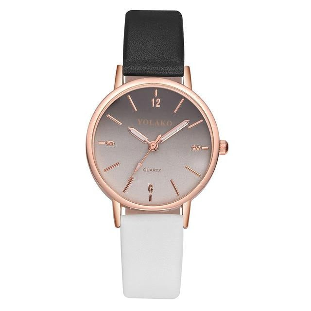 YOLAKO New Arrival Thin Leather Watch - Urban Fashion King