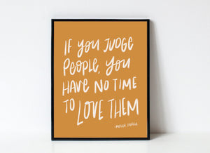 """Love Them"" Mother Teresa Print"