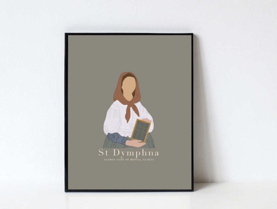 St Dymphna/ DIGITAL DOWNLOAD