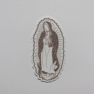Our Lady of Guadalupe Vinyl Laptop sticker /Catholic sticker