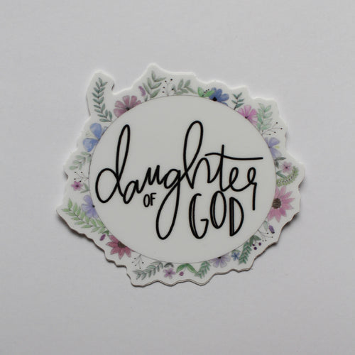 Daughter of God Vinyl Sticker