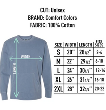 Load image into Gallery viewer, Come Holy Spirit Comfort Colors Crewneck