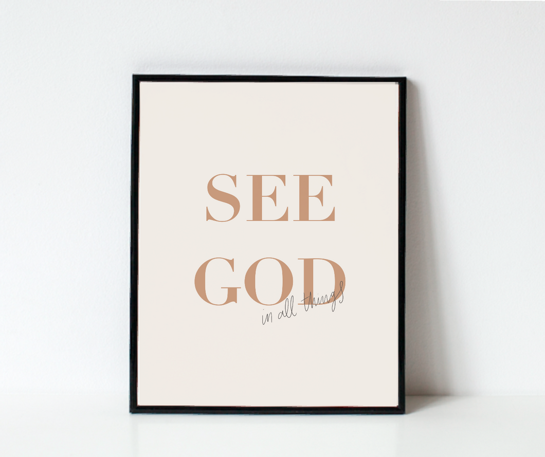 See God in All Things DIGITAL download