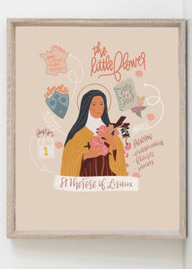 St Thérèse Digital Download (printable)