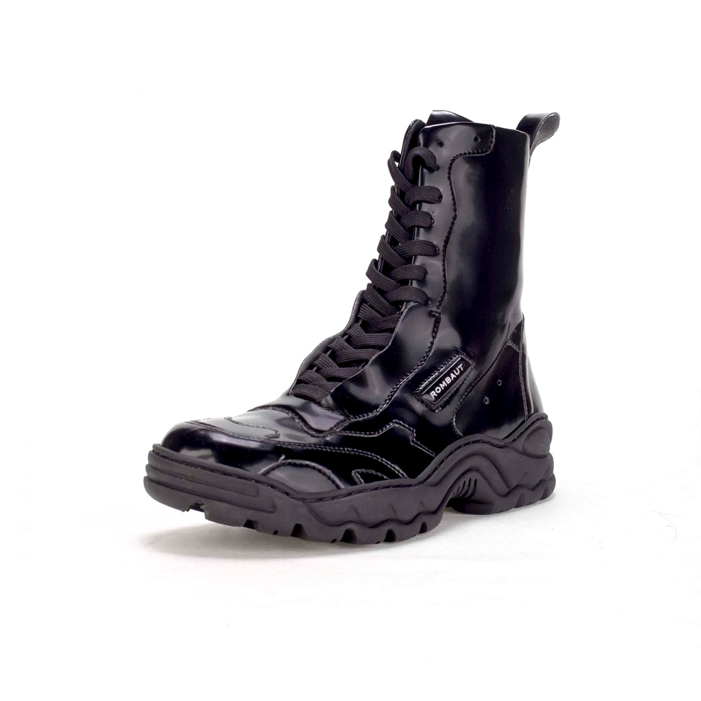 BOCCACCIO BOOT BLACK PATENT