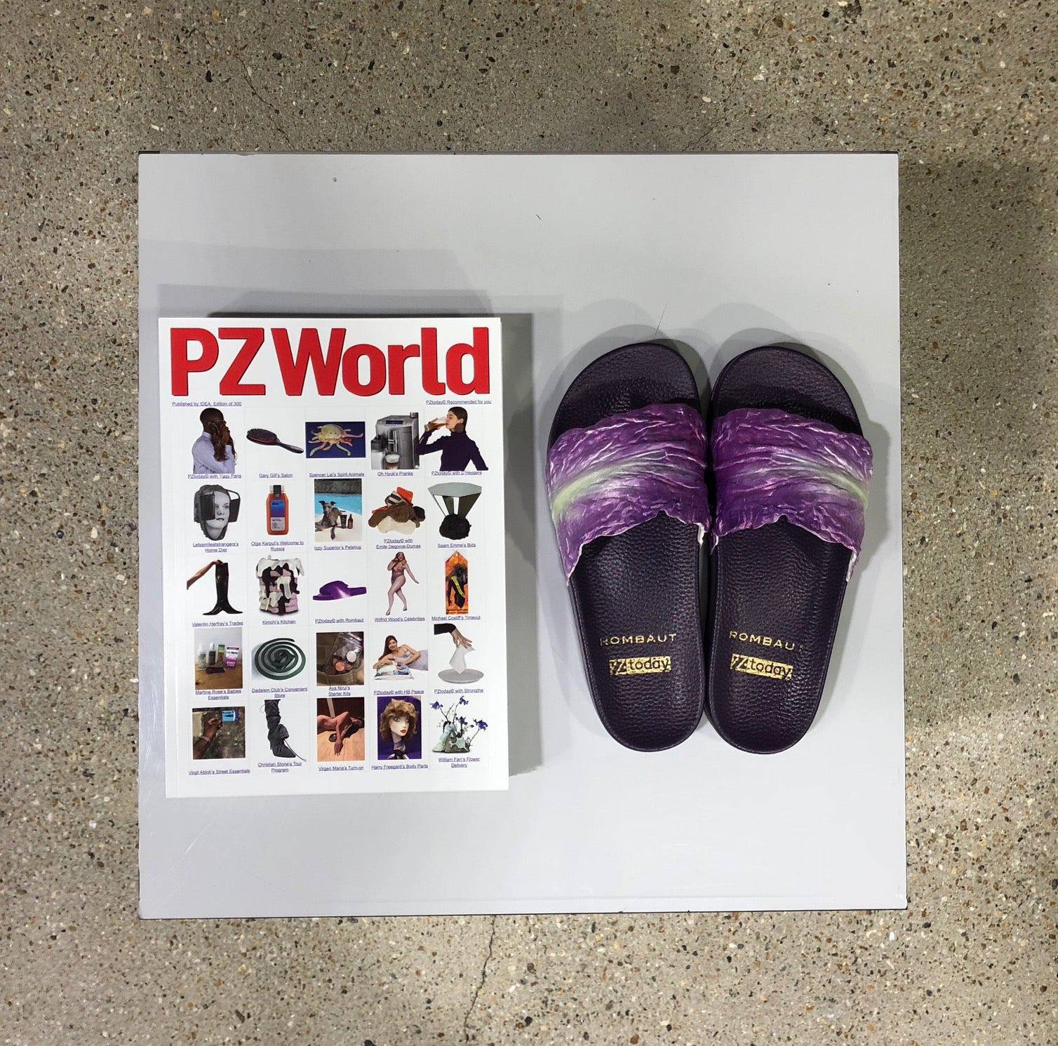 CABBAGE SLIDES X PZTODAY LIMITED EDITION