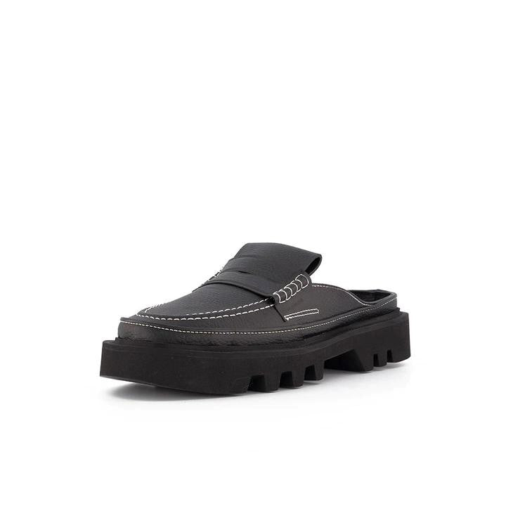 LOAFER BLACK GRAIN
