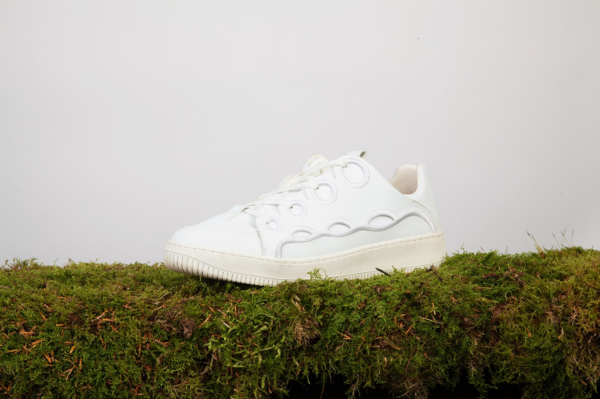 ROHAN low skate shoe WHITE