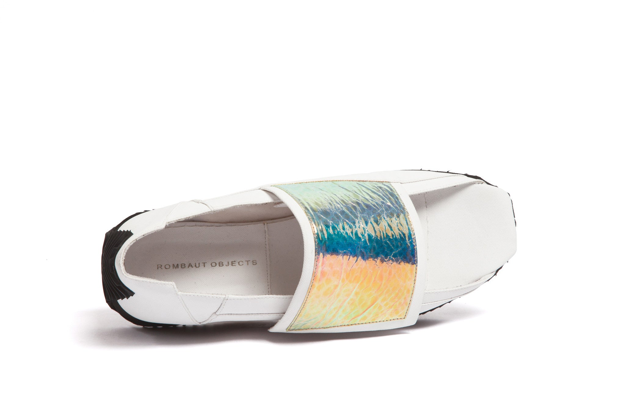 single-strap running sandal IRIDESCENT