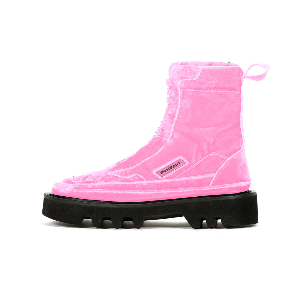 PROTECT HYBRID BOOT HOT PINK VELVET