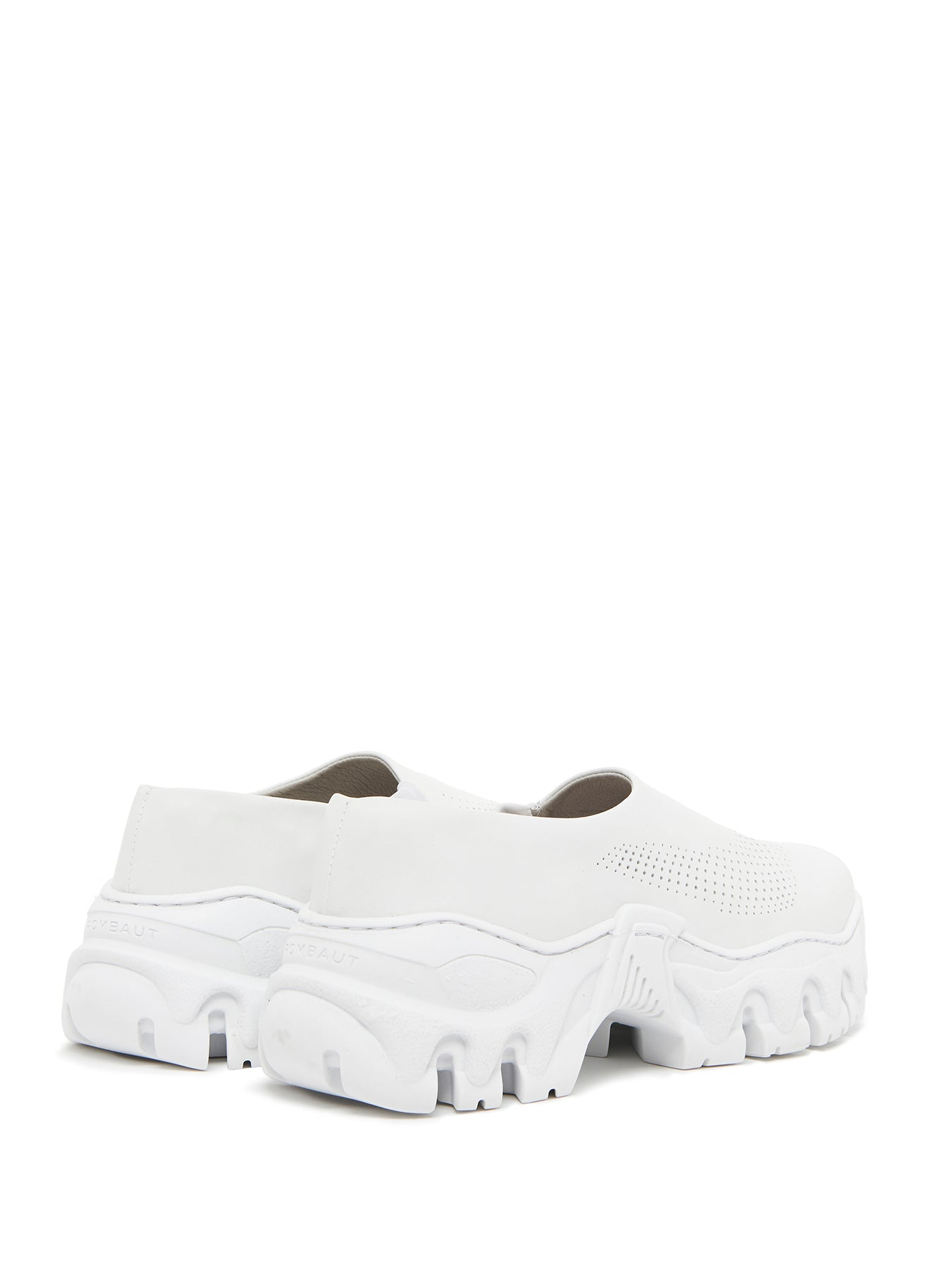 BOCCACCIO II CLOG FUTURE LEATHER WHITE