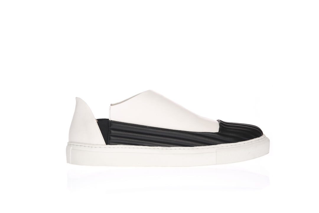 ESA slip-on WHITE - BLACK