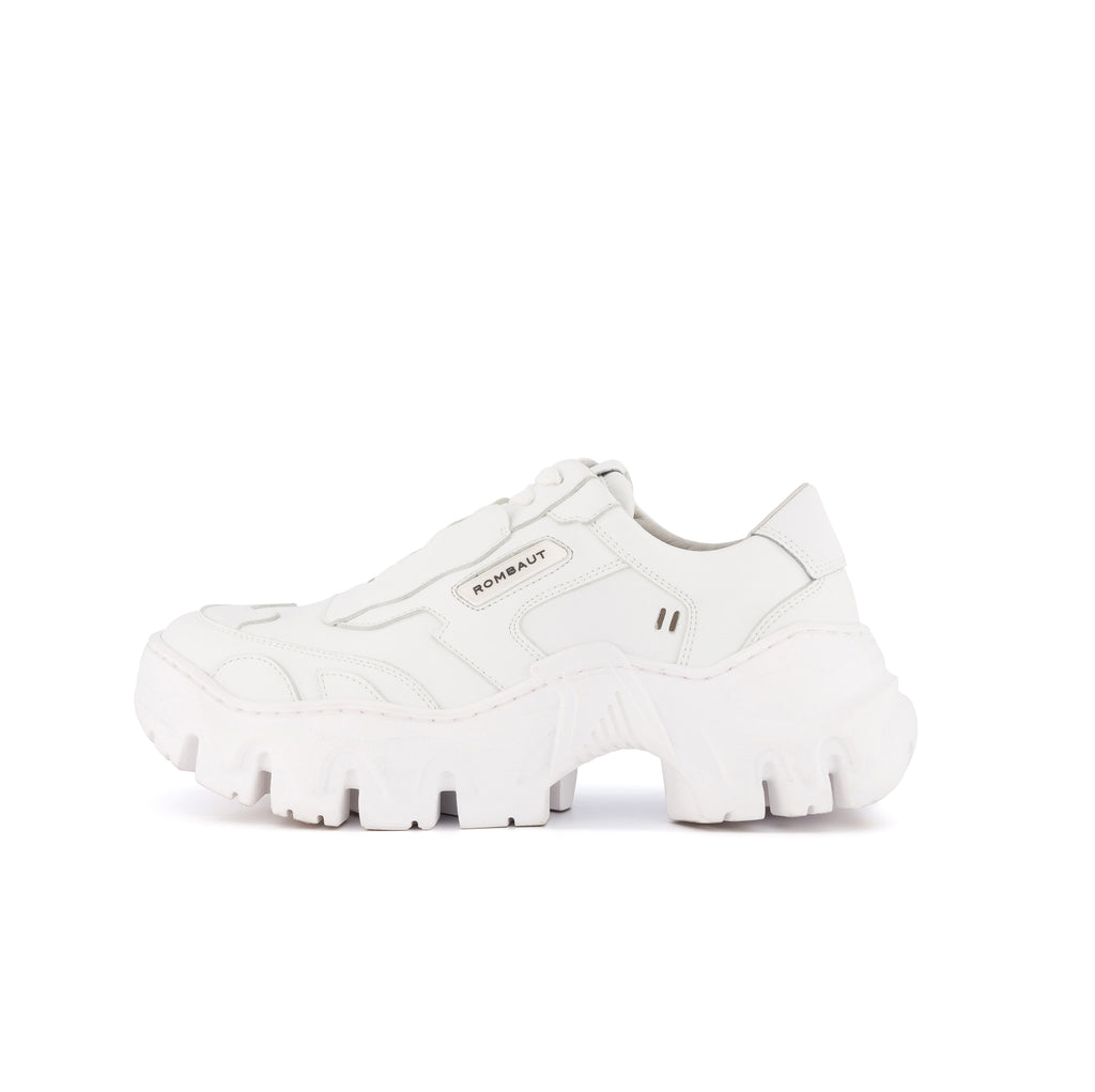 BOCCACCIO II FUTURE LEATHER WHITE