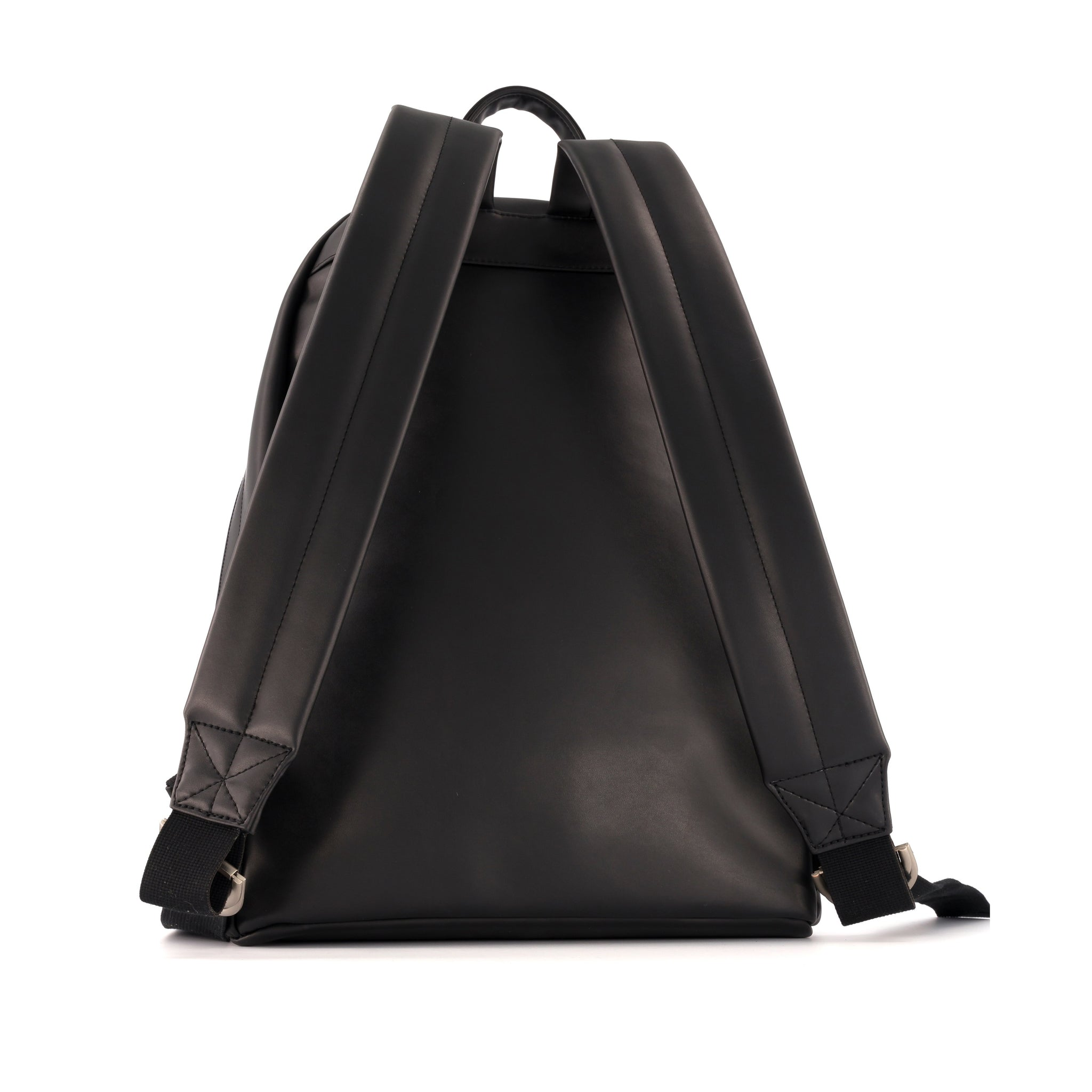 BOCCACCIO BACKPACK FUTURE LEATHER BLACK