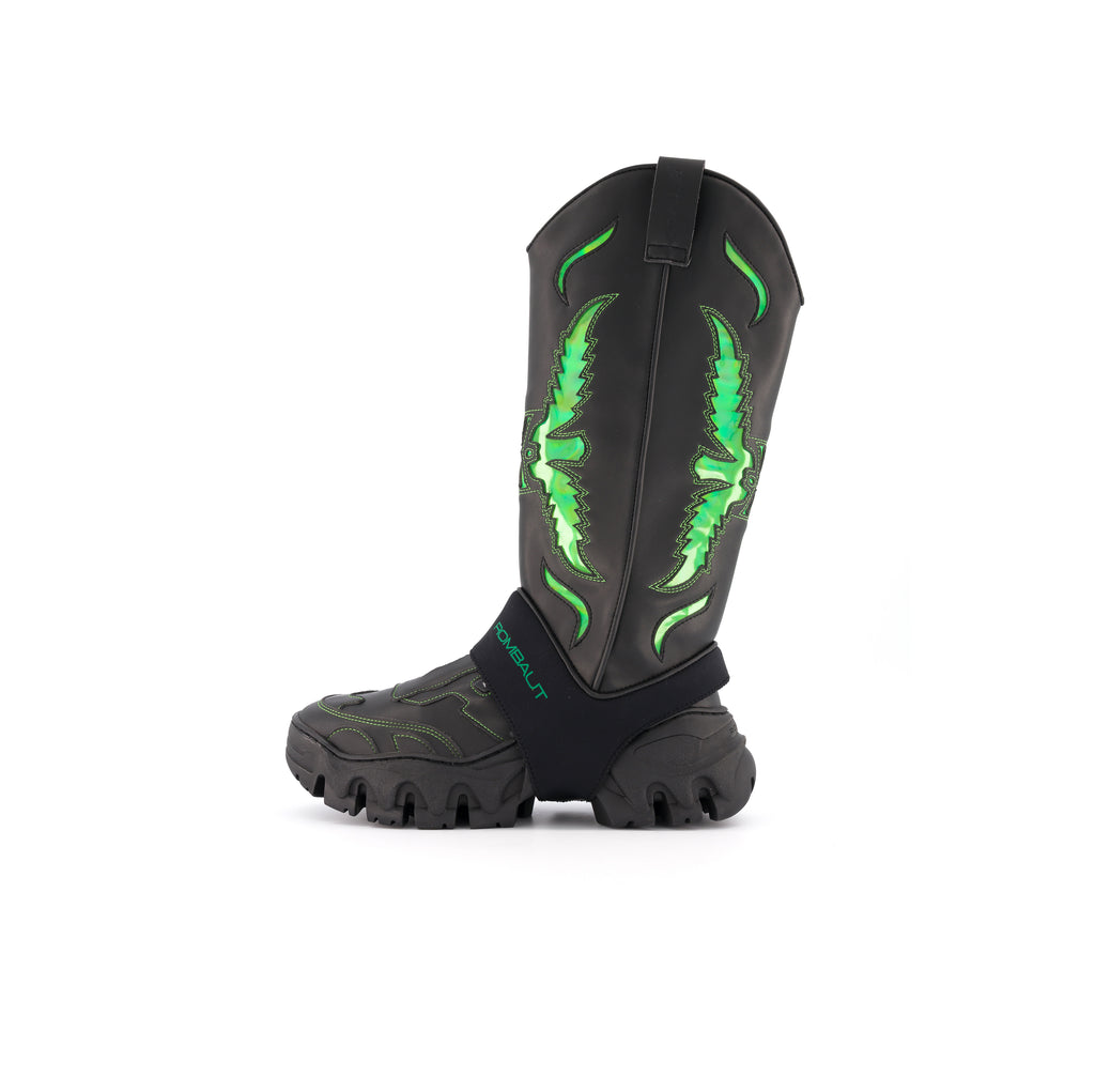 BOCCACCIO II COWBOY BEYOND LEATHER ALIEN GREEN