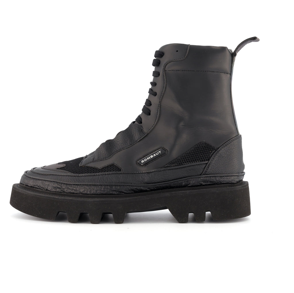 PROTECT HYBRID BOOT VEGAN MIX BLACK