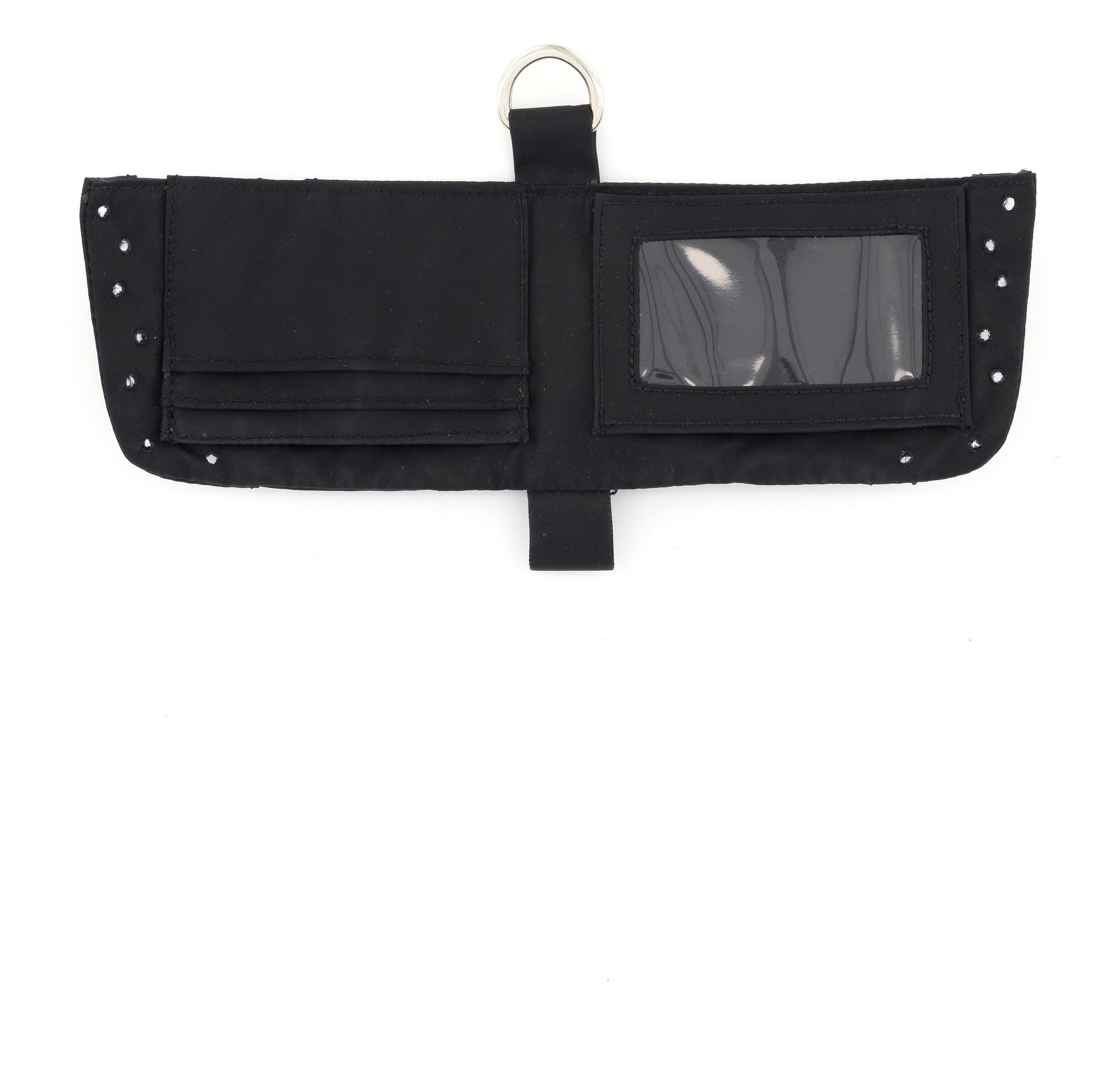 WALLET REGENERATED NYLON BLACK