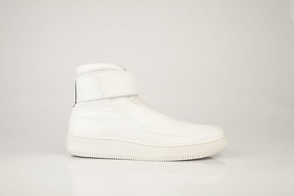 BASS sneaker with rubber sole WHITE