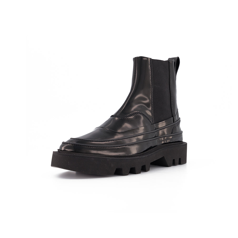 CHELSEA BOOT BLACK PATENT