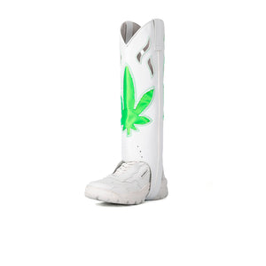 COWBOY BOOT DETACHABLE WHITE