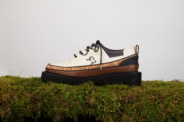 OLOV Multi-layered derbies - ORGANIC