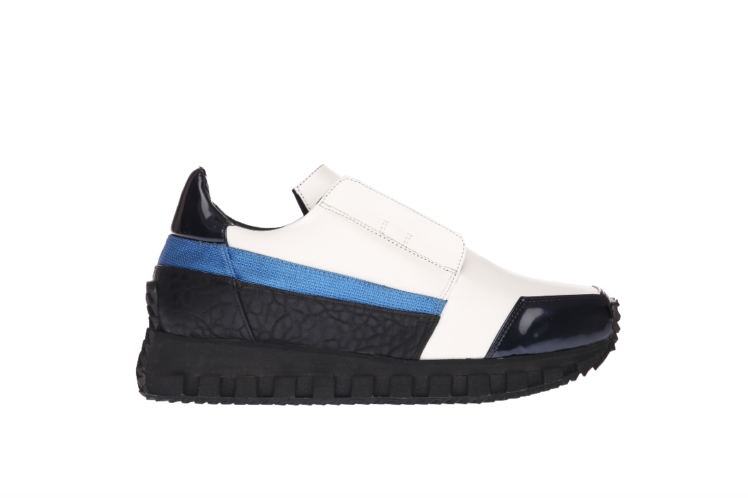 INSIGHT running sneaker WHITE - BLUE