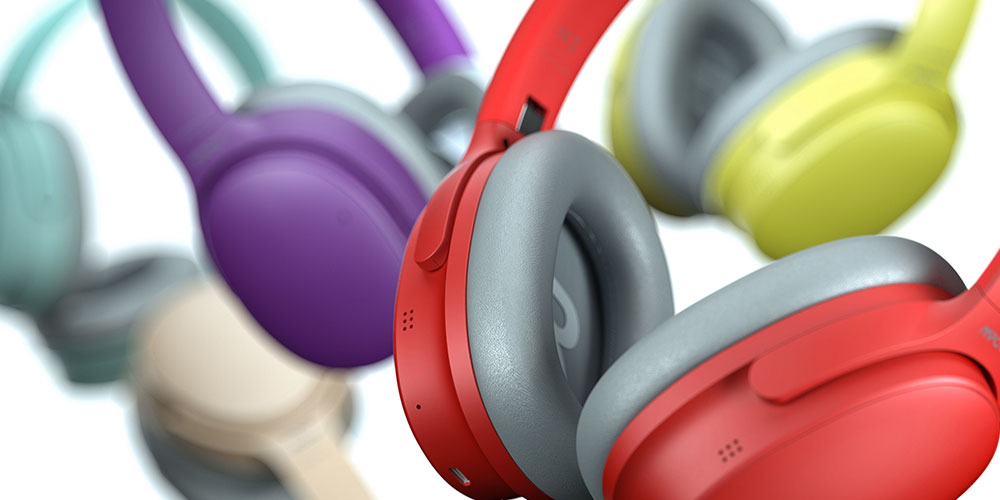 MPOW H10 Recolorings: Vibrant Headphones for Passionate Creators