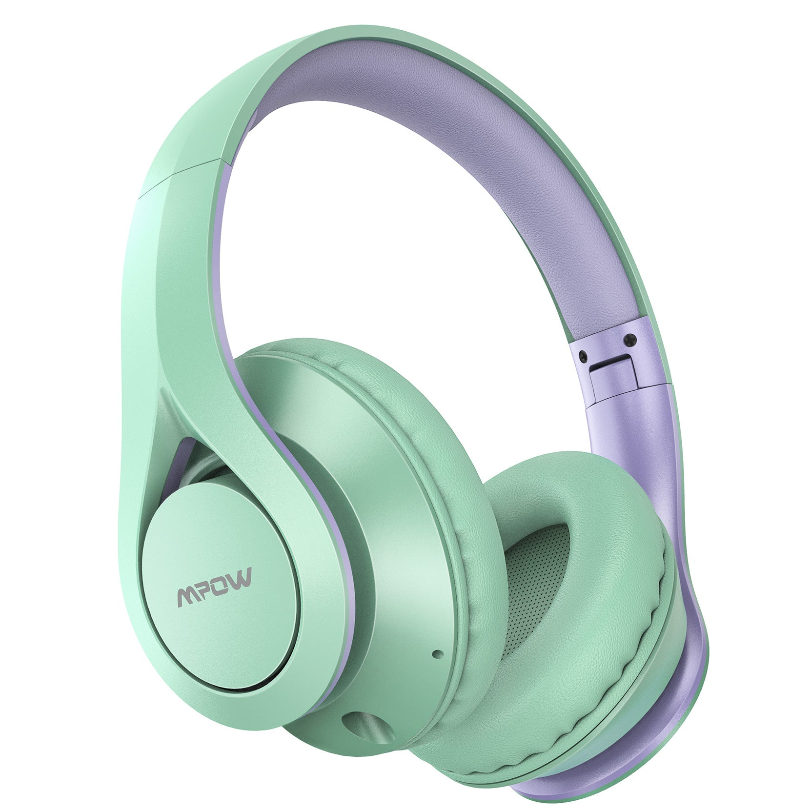 Mpow [60 Horas] Auriculares Bluetooth Diadema Over Ear (Verde)