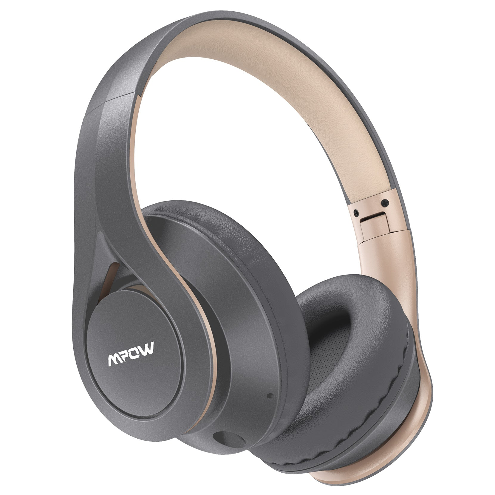 Mpow [60 Horas] Auriculares Bluetooth Diadema Over Ear (Z-Gris)