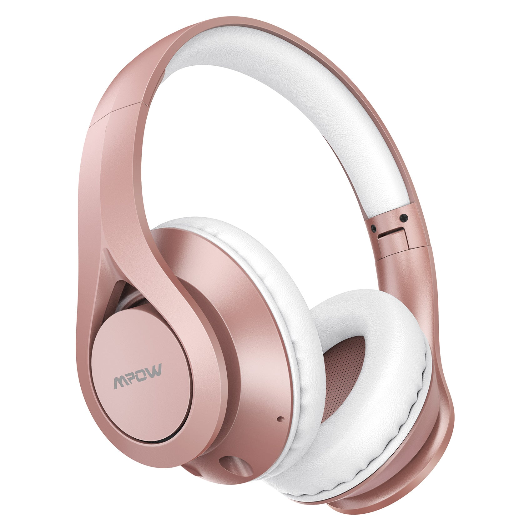 Mpow [60 Horas] Auriculares Bluetooth Diadema Over Ear (Rosa)