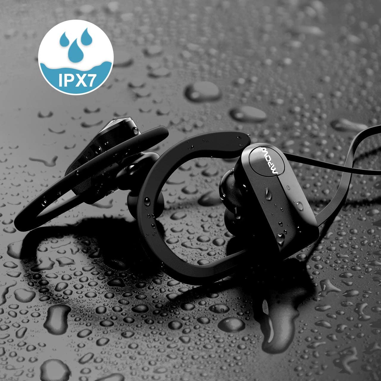 MPOW D7 Sports  Earphones Waterproof IPX7