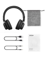 [25Hrs Playtime] Mpow Wireless Headphones Cool Black