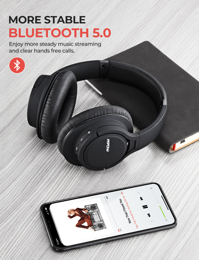 Mpow H7 Pro Wireless Headphones Over Ear